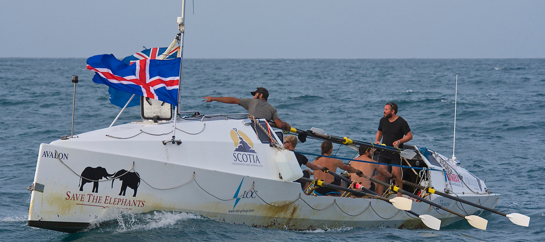 British-led Rowing Team Smashes Two World Records for Elephants in Epic Indian Ocean Crossing...