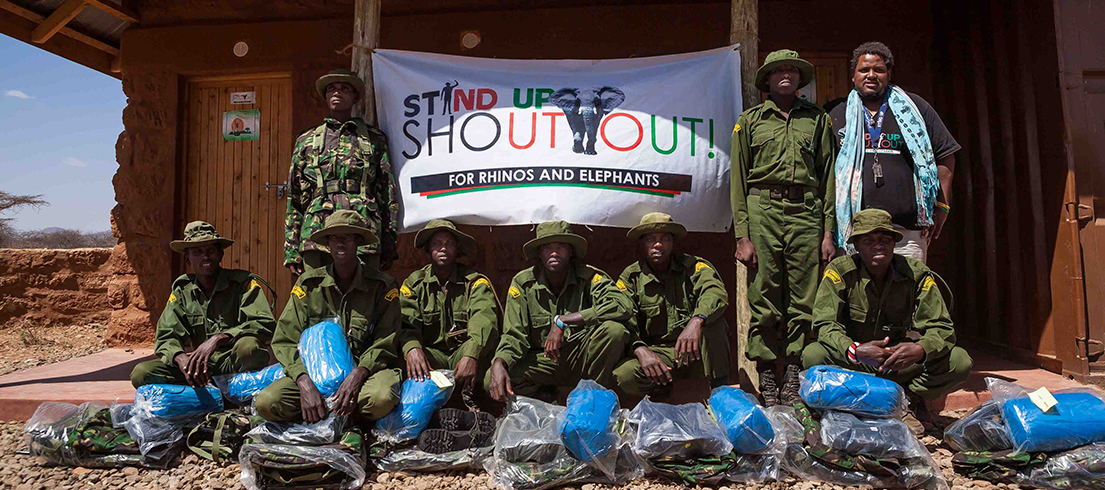 Stand Up Shout Out - Empowering our Conservancy Rangers